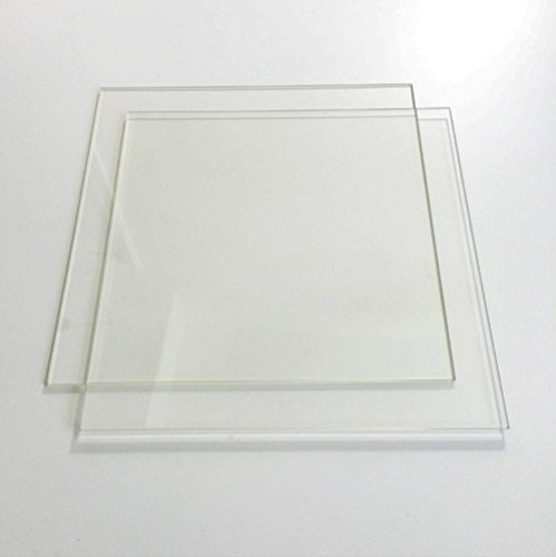 11-34-x-11-34-300mm-x-300mm-Borosilicate-Glass-Plate-Bed-w-Flat-Polished-Edge-for-3D-Printer-2-Pack-0