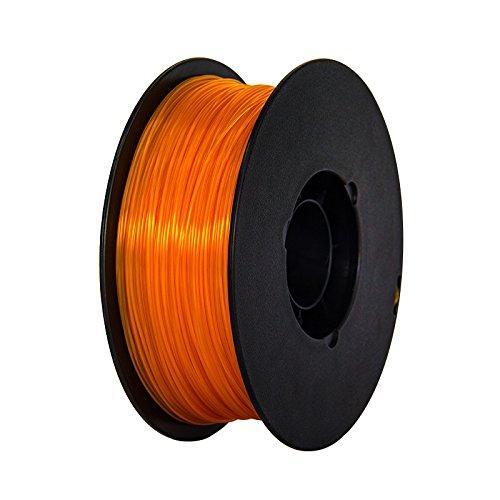 175mm-Orange-PLA-3d-Printer-Filament-NW-1kg-Per-Spool-for-FlashForge-Creator-series-0