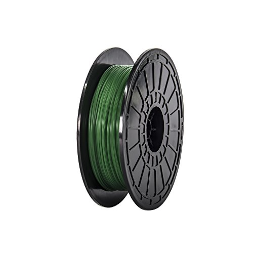 175mm-PLA-DARK-Green-3D-Printer-Filament-NW06-kg-Per-Spool-for-FlashForge-Dreamer-and-Finder-3d-Printers-0