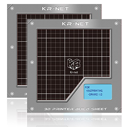 2-Packs-KR-NET-3D-Printer-Adhesive-Sticker-Build-Sheet-Grid-78-x-78-Pack-of-3-for-XYZ-Printing-Da-Vinci-Pro-10A-20A-Duo-10-Aio-0
