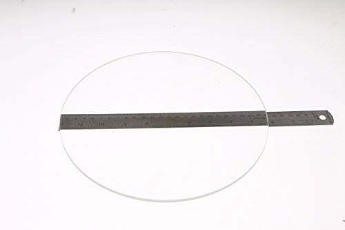 250mm-Diameter-x-5mm-Thick-Round-Borosilicate-Glass-Plate-0-0