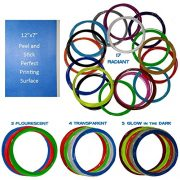 29-different-3D-filament-colors-Why-settle-on-twelve-Is-your-creativity-limited-by-colors-You-get-5-Glow-in-Dark-3-Fluorescent-4-Transparent-17-Radiant-colors-ABS-175-Bonus-print-surface-0