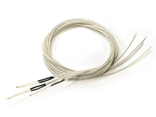 3-PCS-Ntc3950-Thermistors-for-Reprap-3d-Printer-Extruder-or-Heated-Bed-Pre-wired-with-Teflon-Insulated-Wiring-0-0
