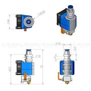 3D-CAM-All-Metal-Hot-End-V6-for-RepRap-3D-Printer-Bowden-Extruder-30mm-Filament-05mm-Nozzle-2V-40W-Heater-0-3