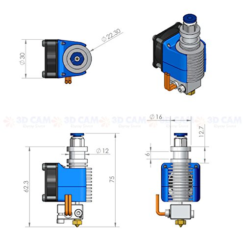 3D-CAM-All-Metal-Hot-End-V6-for-RepRap-3D-Printer-Bowden-Extruder-30mm-Filament-05mm-Nozzle-2V-40W-Heater-0-3