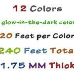 3D-Pen-Filament-Printing-Refills-ABS-Scribbler-20FT-each-12-Color-Glow-in-Dark-0-3