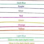 3D-Pen-Filament-Printing-Refills-ABS-Scribbler-20FT-each-12-Color-Glow-in-Dark-0-5