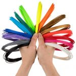 3D-Pen-Filament-Refills-15-Colors-INCLUDES-3-GLOW-IN-THE-DARK-21-Feet-Per-Colour-Smoothest-ABS-Plastic-175mm-Around-BONUS-200-Stencils-Ebook-0