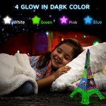 3D-Pen-Filament-Refills-175mm-ABS-280-Linear-Feet-20-foot-each-Total-14-Different-colors-fun-pack-4-Glow-In-The-Dark-Colors-175-FREE-Stencils-eBook-Included-0-0