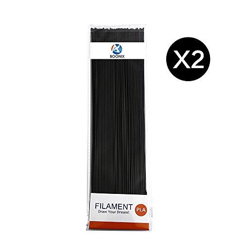 3D-Pen-Filament-Refills-2-Pack-Bundle-with-40-Strands-Per-Package-80-Strands-in-ALL-66FT-Long-for-3D-Printing-175MM-PLA-Eco-Friendly-Plastic-FREE-BONUS-Stencil-Ebook-0-0