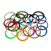 3D-Pen-Filament-Refills-20-STENCIL-EBOOK-BONUS-GLOW-IN-THE-DARK-COLOR-INCLUDED-175mm-ABS-345-Linear-Feet-Total-of-15-Different-Colors-in-23-Foot-Lengths-0-0