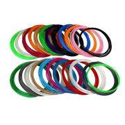 3D-Pen-Filament-Refills-20-STENCIL-EBOOK-BONUS-GLOW-IN-THE-DARK-COLOR-INCLUDED-175mm-ABS-345-Linear-Feet-Total-of-15-Different-Colors-in-23-Foot-Lengths-0-1