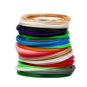 3D-Pen-Filament-Refills-20-STENCIL-EBOOK-BONUS-GLOW-IN-THE-DARK-COLOR-INCLUDED-175mm-ABS-345-Linear-Feet-Total-of-15-Different-Colors-in-23-Foot-Lengths-0-2