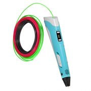 3D-Pen-Filament-Refills-20-STENCIL-EBOOK-BONUS-GLOW-IN-THE-DARK-COLOR-INCLUDED-175mm-ABS-345-Linear-Feet-Total-of-15-Different-Colors-in-23-Foot-Lengths-0-5