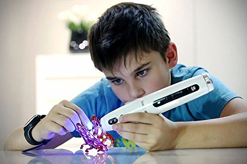 3D-Pen-Filament-Refills-50-STENCIL-EBOOK-BONUS-GLOW-IN-THE-DARK-COLOR-INCLUDED-175mm-ABS-240-Linear-Feet-Total-of-12-Different-Colors-in-20-Foot-Lengths-0-5