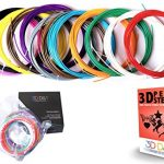3D-Pen-Filament-Refils-20-Feet-Of-12-Unique-Colors-240-Linear-Feet-Of-175MM-Diameter-ABS-Plastic-In-Total-Suitable-For-Desktop-3D-Printers-Top-Quality-Material-For-Doodling-With-Free-Stencil-E-Book-0