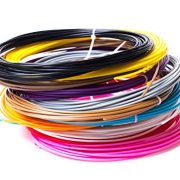 3D-Pen-Filament-Refils-20-Feet-Of-12-Unique-Colors-240-Linear-Feet-Of-175MM-Diameter-ABS-Plastic-In-Total-Suitable-For-Desktop-3D-Printers-Top-Quality-Material-For-Doodling-With-Free-Stencil-E-Book-0-2