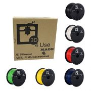 3D-Printer-Filament-ABS-175mm-1kg-22-lbs-Multi-Color-Choices-Black-or-White-or-Red-Or-Blue-or-Yellow-or-Green-Dimensional-Accuracy-005mm-3D-Printing-Filament-bought-to-you-by-3D4USE-0