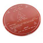 3D-Printer-Round-Borosilicate-Glass-Print-Surface-200mm-Diam-Kossel-Delta-RepRap-0-0