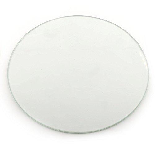 3D-Printer-Round-Borosilicate-Glass-Print-Surface-200mm-Diam-Kossel-Delta-RepRap-0