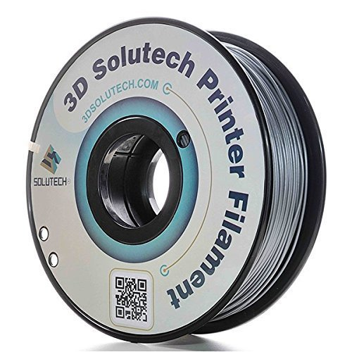 3D-Solutech-Silver-Metal-175mm-PLA-3D-Printer-Filament-22-LBS-10KG-100-USA-0