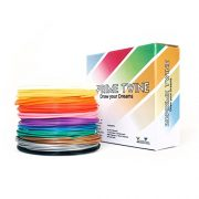 3DPrime-Twine-ABS-3D-Pen-Filament-Refills-Sample-Pack-for-All-175mm-Models-12-Vacuum-Sealed-20-Foot-Rolls-Multiple-Vibrant-Colors-0
