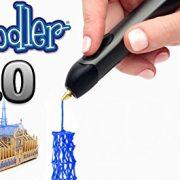 3Doodler-20-FOUR-PIECE-BUNDLE-3doodler-20-3d-Printing-Pen-75-Strands-of-3Doodler-Plastic-Filament-25-PLA-25-ABS-25-Glow-in-the-Dark-3doodler-20-DoodleStand-3doodler-20-Nozzle-Set-0-1