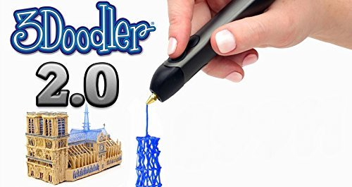 3doodler-20-Bundle-w-Printing-Pen-Pedal-SET-and-Nozzle-Set-3doodler-20-3d-Printing-Pen-50-Strands-of-3doodler-Plastic-Filament-25-PLA-25-Abs-0-0