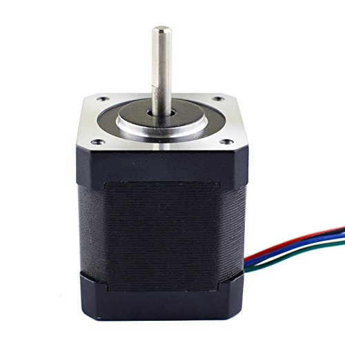 5PCS-Nema-17-Stepper-Motor-Bipolar-2A-84ozin-48mm-4-lead-for-3D-PrinterCNC-0-1