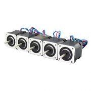 5PCS-Nema-17-Stepper-Motor-Bipolar-2A-84ozin-48mm-4-lead-for-3D-PrinterCNC-0