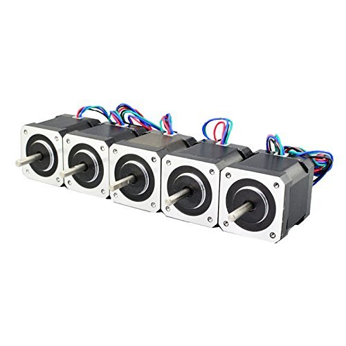 5PCS-Nema-17-Stepper-Motor-Bipolar-2A-84ozin-48mm-4-lead-for-3D-PrinterCNC-0