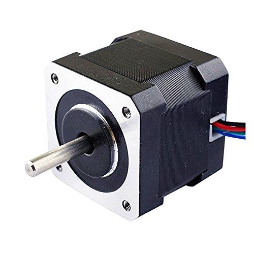 5PCS-Nema17-Stepper-Motor-2A-64ozin-40mm-Body-4-lead-1m-Cable-W-Connector-0-0