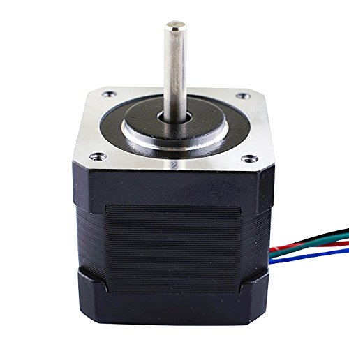 5PCS-Nema17-Stepper-Motor-2A-64ozin-40mm-Body-4-lead-1m-Cable-W-Connector-0-1