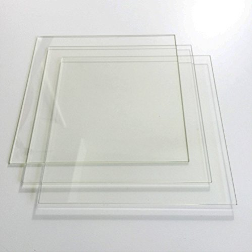 7-78-x-7-78-200mm-x-200mm-Borosilicate-Glass-Plate-Bed-w-Flat-Polished-Edge-for-MK2-MK3-Heated-Bed-3D-Printer-3-Pack-0