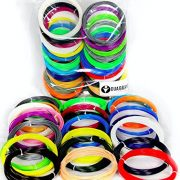 852-Linear-Feet-3d-Pen-Filament-175mm-ABS-Pack-of-26-Unique-Colors-3-Glow-in-the-Dark-32-Feet-Each-Color-By-Dua-Brand-0