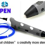AFUNTA-3D-Stereoscopic-Printing-Pen-for-3D-Drawing-Modeling-Arts-Crafts-Printing-175mm-ABS-Filament-with-AFUNTAs-gift-Glasses-cloth-pens-color-may-vary-0-3