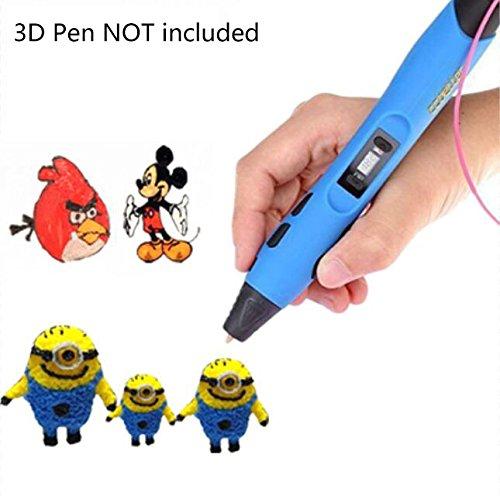 Blusmart-175mm-3D-Pen-ABS-Filaments-20-Colors-Pack-for-3d-Printing-Printer-PenRandom-Colors-0-4