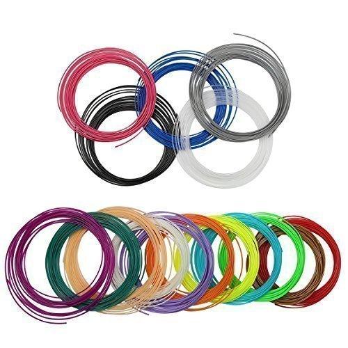 Blusmart-175mm-3D-Pen-ABS-Filaments-20-Colors-Pack-for-3d-Printing-Printer-PenRandom-Colors-0