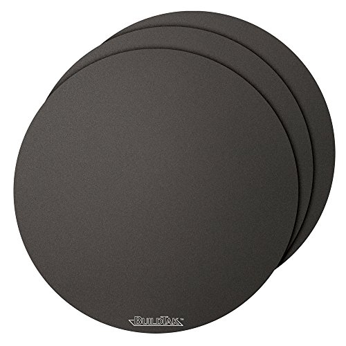 BuildTak-3D-Printing-Build-Surface-12-Diameter-Round-Black-Pack-of-3-0