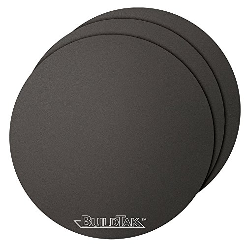 BuildTak-3D-Printing-Build-Surface-65-Diameter-Round-Black-Pack-of-3-0