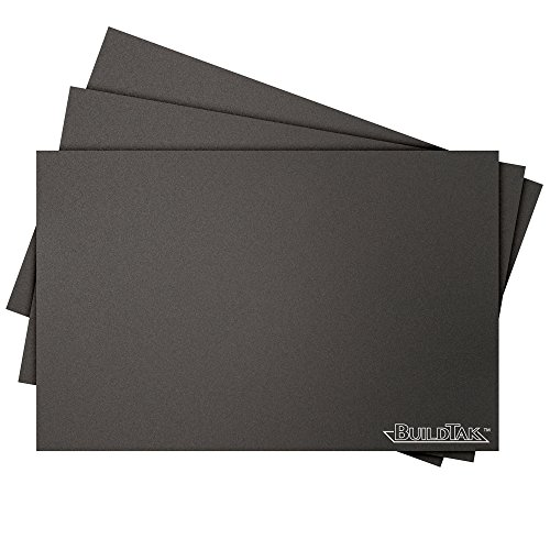 BuildTak-3D-Printing-Build-Surface-65-x-10-Rectangle-Black-Pack-of-3-0