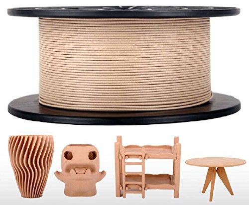 CoLiDo-3D-Printer-Filament-PLA-175mm-Spool-500-Grams-Wood-0