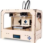 FlashForge-3d-Printer-Dual-Extruder-Both-ABS-and-PLA-Compatible-88x57x59build-Volume-W2-Free-Rolls-0
