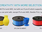 Geeetech-Acrylic-I3-Pro-B-3d-Printer8mm-Acrylic-FrameSupport-Five-MaterialsHigh-Precision-Impressora-DIY-Kit-0-2