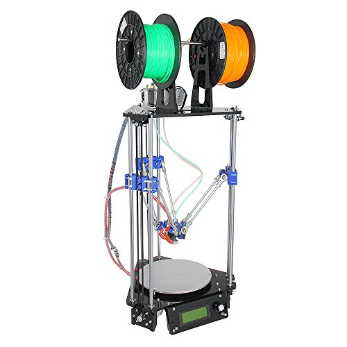 Geeetech-Delta-Rostock-Mini-G2s-3D-PrinterDouble-ExtruderSupport-4-MaterialsAuto-Level-0-0