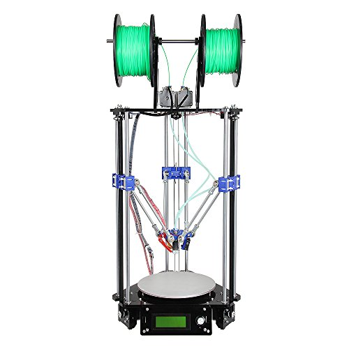 Geeetech-Delta-Rostock-Mini-G2s-3D-PrinterDouble-ExtruderSupport-4-MaterialsAuto-Level-0-3
