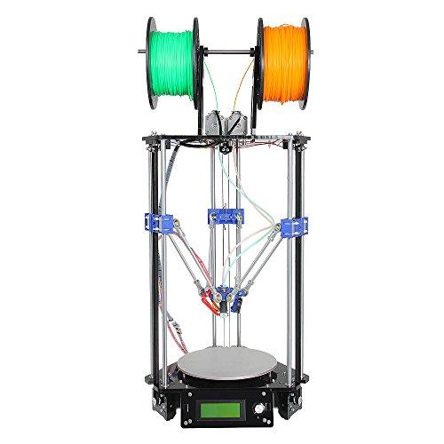 Geeetech-Delta-Rostock-Mini-G2s-3D-PrinterDouble-ExtruderSupport-4-MaterialsAuto-Level-0