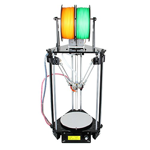 Geeetech-New-Kossel-Delta-Rostock-Mini-G2s-DIY-Dual-Extruder-Auto-Level-3D-Printer-1KG-Free-PLA-Filament-0