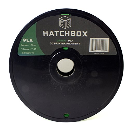 HATCHBOX-3D-PLA-1KG175-GRN-PLA-3D-Printer-Filament-Dimensional-Accuracy-005-mm-1-kg-Spool-175-mm-Green-0-0