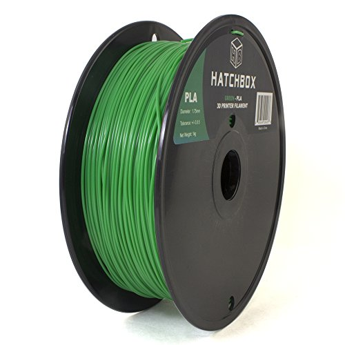 HATCHBOX-3D-PLA-1KG175-GRN-PLA-3D-Printer-Filament-Dimensional-Accuracy-005-mm-1-kg-Spool-175-mm-Green-0